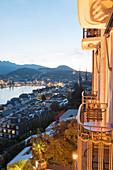 Blick auf Luzern, Kanton Luzern, Schweiz