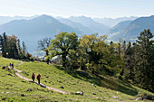 Hiking on Bürgenstock, Lucerne, Switzerland