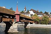 Geissmattbrücke, Lucerne, Switzerland