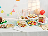 Kids cake buffet