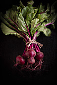 A bunch of beetroot
