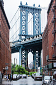 A view of Manhatten Bridge, New York City, USA