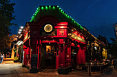 Irish Pub in Jackson Heights, Queens, New York City, USA