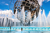 Die Unisphere, Flushing Meadows-Corona Park, Queens, New York City, USA
