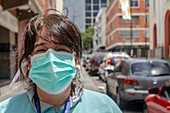 Healthcare worker during Covid-19 outbreak
