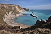 St. Oswald's Bay, Dorset, UK