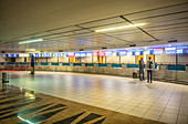 Empty airport during Covid-19 outbreak