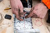 Fibre optic cable installation