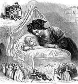 Nanny, 19th century illustration