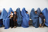 Hospital waiting room, Afghanistan