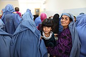 Hospital waiting room, Afghanistan