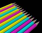 Subtractive colours, illustration