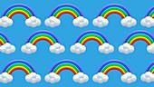 Rainbows, illustration