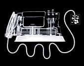 Electric iron, X-ray