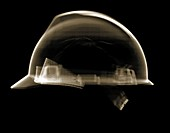 Builders hard hat, X-ray