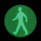 Green traffic light, X-ray