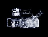 Broadcast video camera, X-ray