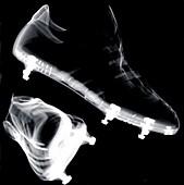 Football boots, X-ray
