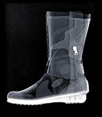 Motorcycle boot, X-ray