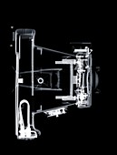 Old fashioned camera, X-ray