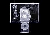 Retro DVD player, X-ray