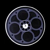 Film reel, X-ray