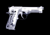 Handgun, X-ray