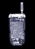 Miniature mobile phone, X-ray