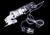 Angle grinder, X-ray