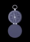 Pocket compass, X-ray