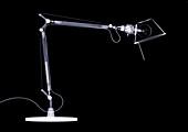 Desk lamp, X-ray