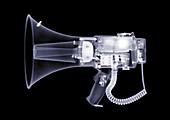 Megaphone, X-ray