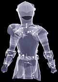 Suit of armour, X-ray