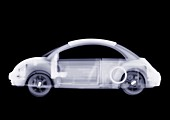 New style toy VW beetle, X-ray
