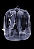 Backpack, X-ray