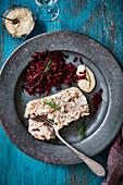Holodets russian pork terrine