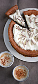 Nougat espresso cake