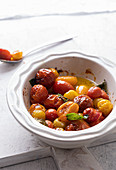 Confit of tomatoes