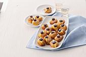 Tortelli alla crema (cream-filled Shrove pastries, Italy)