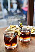 Vermouth hour