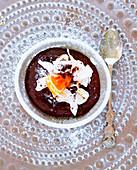 Chocolate-orange pudding