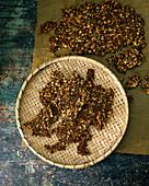 Crispbread with nuts