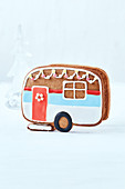 Gingerbread 'trailer' cookie