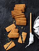 Prepare Malted Mallow s'mores cake
