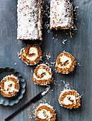 Spiced Golden Syrup Roll with Ermine Frosting