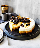 Caramel, Spice and Rum Mousse Cake