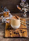 Dalgona coffee (Flurry Coffee)