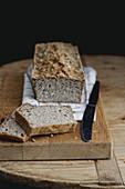Glutenfree buckwheat and millet bread