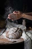 Glutenfree sourdough bread