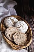 Gluten free sourdough buns